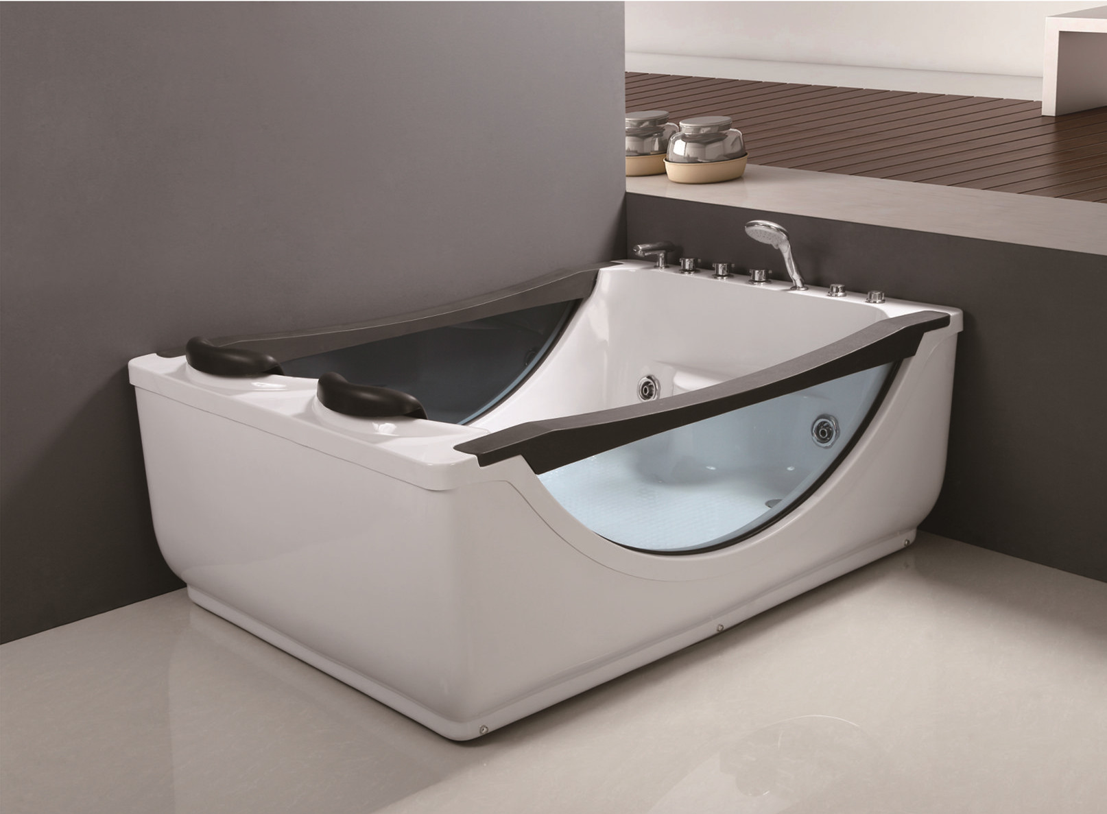 C-040 C-046 Luxury White Black ABS Glass Hot Tub Whirlpool Massage Jetted Bathroom Bathtub with Cheap Price for Sale.jpg